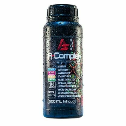 A Complex Aqua Synergy all in one Aquarium-water optimizer 500 ml, Een volledige plantenvoeding die uw afvalstoffen omzet in voedingsstoffen